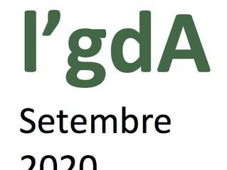 Activitats Setembre 2020