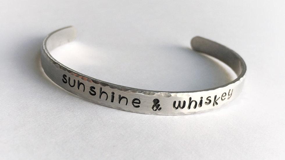 """Sunshine & Whiskey"" Bracelet"