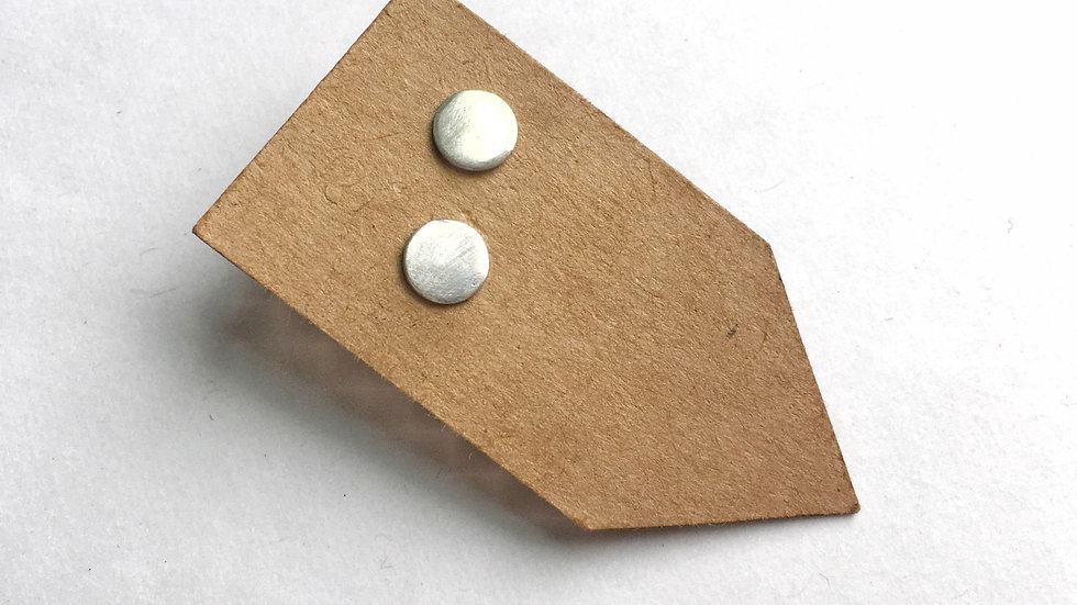 Polished Sterling Silver Studs