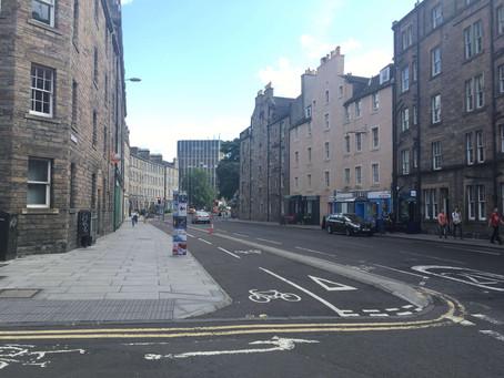 How's Edinburgh Doing? Cycling in Scotland's Capital