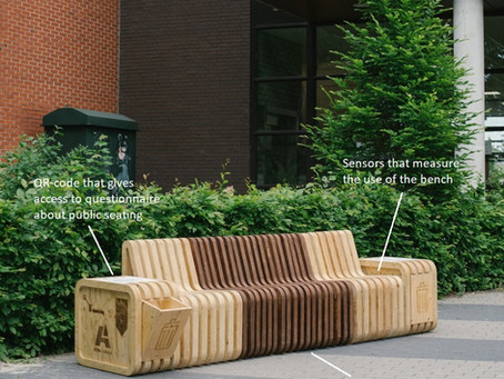 The Benchmark – A Smart Bench That Teaches Cities About the Public Space