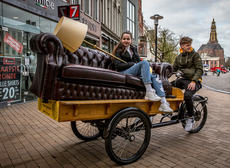 Delivering Happiness: Seven Cities Will Unbox the Potential of Cargo Bikes in Groningen
