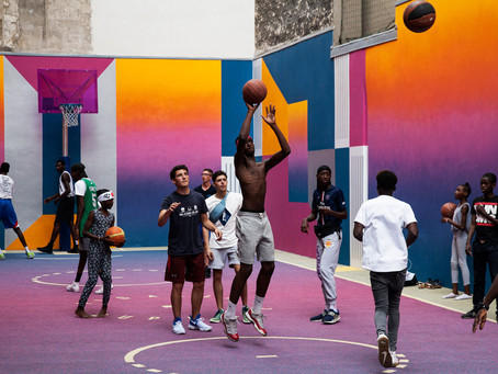 The World's Most Beautiful Basketball Courts