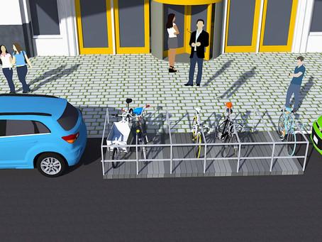 Meet the Fietsvlonders: Rotterdam's Solution to Combat Street Parking