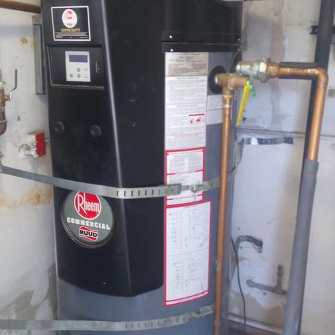 water heater pvc vent