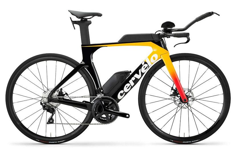 Велосипед для раздельного старта и триатлона Cervelo P-Series Disc 105 2020