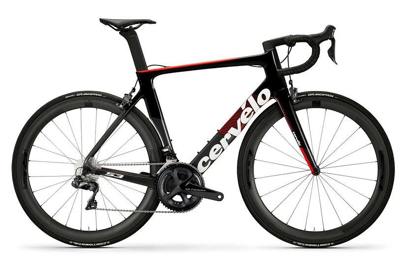 Шоссейный велосипед Cervelo S3 Ultegra Di2 2020