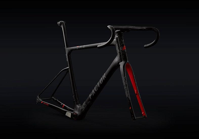 Шасси вседорожного велосипеда Factor ViSTA CHPT3 Edition