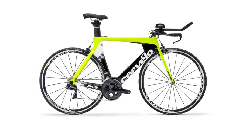 Велосипед для раздельного старта и триатлона Cervelo P3 Ultegra Di2 2019