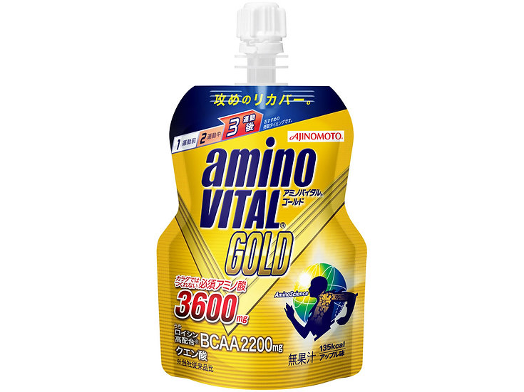 AminoVITAL GOLD JELLY со вкусом яблока (135 г)