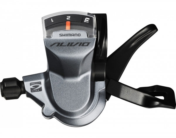 Манет. Front Shimano Alivio SL-M4000 rapidfire (3ск.)