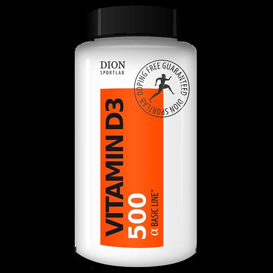 Витамин D3 DION Sportlab VITAMIN-D3 500 60 капсул