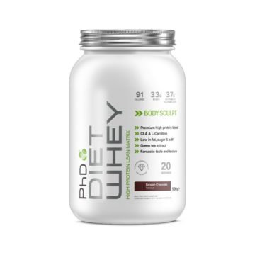 PhD Diet Whey Protein, Бельгийский шоколад, 500 гр