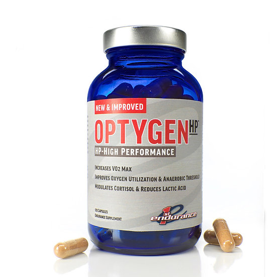 First Endurance Optygen HP для повышения выносливости, 120 капсул