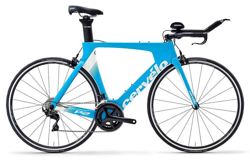 Велосипед для раздельного старта и триатлона Cervelo P2 105 2020