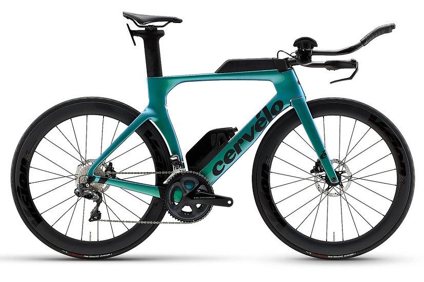 Велосипед для раздельного старта и триатлона Cervelo P-Series Disc Ultegra 2021