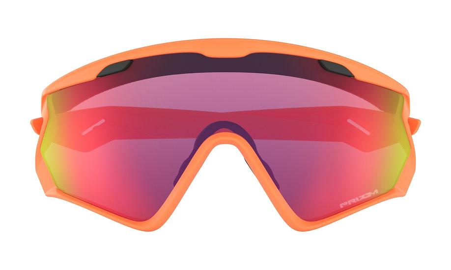 Очки Oakley Wind Jacket 2.0 Matte Neon Orange/Prizm Road