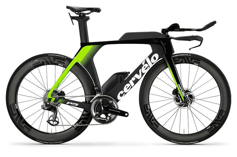 Велосипед для раздельного старта и триатлона Cervelo P5 Disc DA Di2 2019