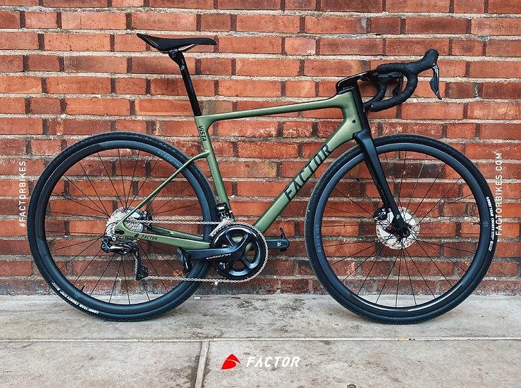 Вседорожный гравийный велосипед Factor ViSTA Hunter Green
