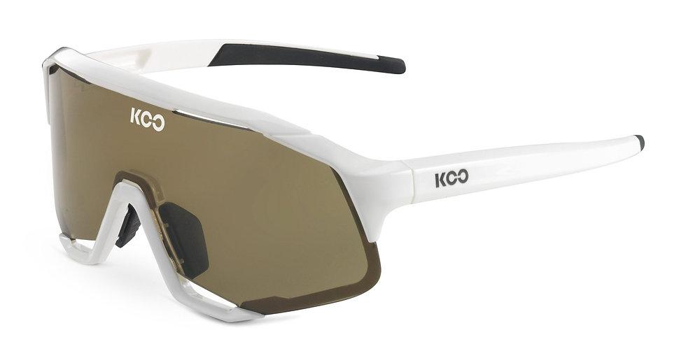 Очки солнцезащитные KOO DEMOS (White/Brown)
