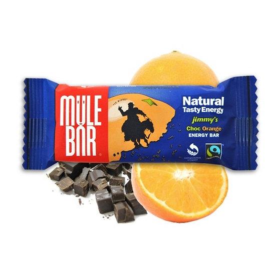 Mule bar энергетический батончик, шоколад с апельсином (40 г.)