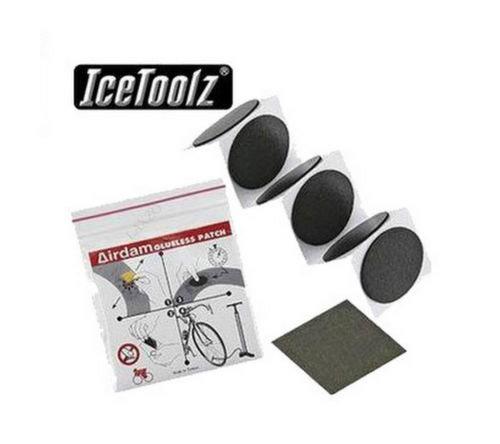 IceToolz 56E6 комплект заплаток AirDam, 6 шт