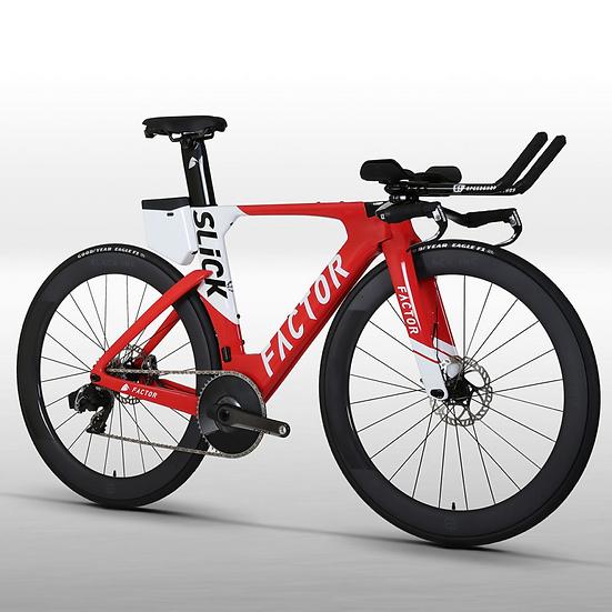 Шасси велосипеда для триатлона и раздельного старта Factor SLiCK Disc RC
