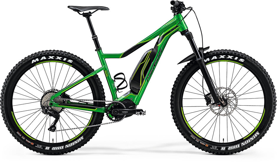 Электровелосипед Merida eBig.Trail 500 2018