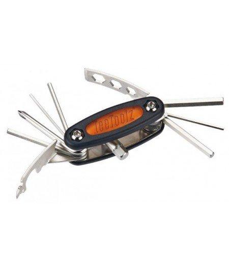 Набор инструментов ключ складной Mighty-17 многофункциональный IceToolz