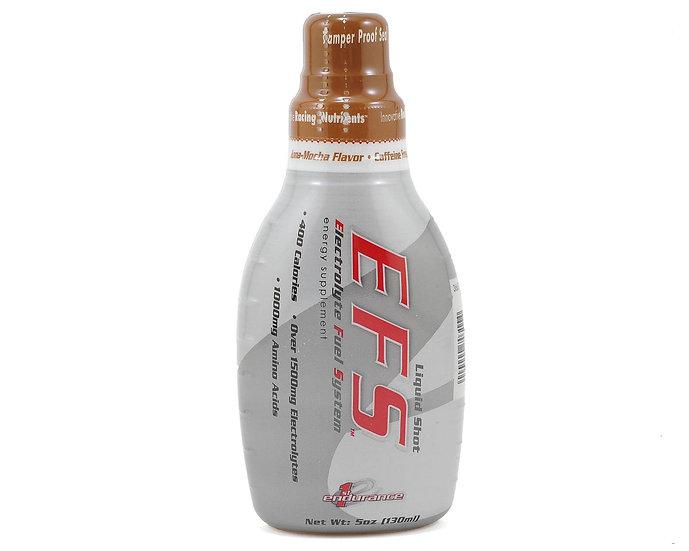 First Endurance EFS Liquid Shot, эн. гель с элетролитами, Кона-мокка, 130 мл