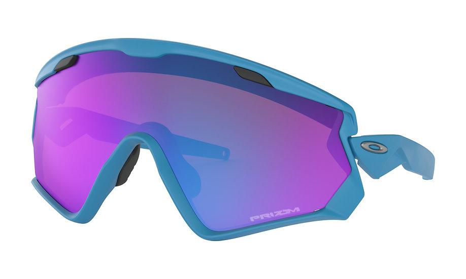 Очки Oakley Wind Jacket 2.0 Matte Sky Blue/Prizm Sapphire