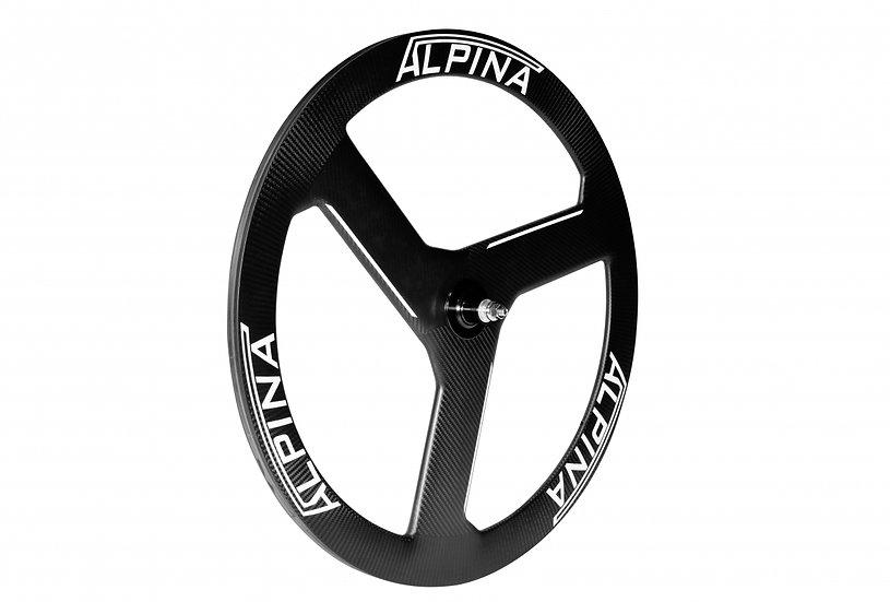 Комплект трековых карбоновых лопастей ALPINA 3 SPOKE FULL CARBON TUBULAR