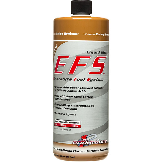 First Endurance EFS Liquid Shot, эн. гель с элетролитами, Кона-мокка, 950 мл
