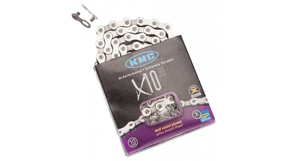 Цепь KMC X10 1/2*11/128*114L 10ск.