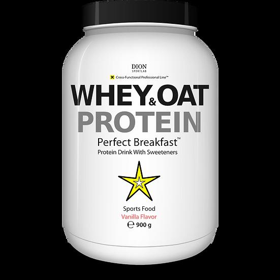 Сывороточный протеин DION Sportlab WHEY&OAT 900 г