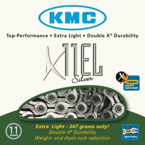 Цепь KMC X11EL Super Lite 1/2*11/128*114L 11ск.