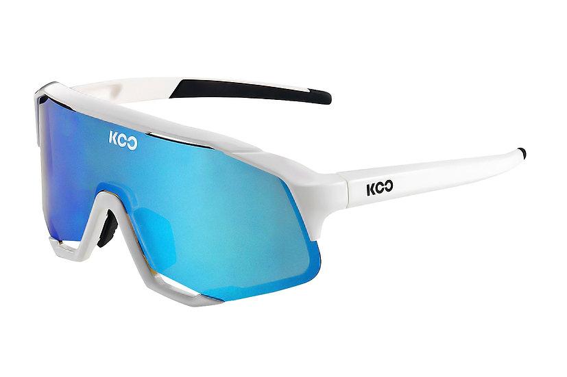 Очки солнцезащитные KOO DEMOS (White/Turquoise)