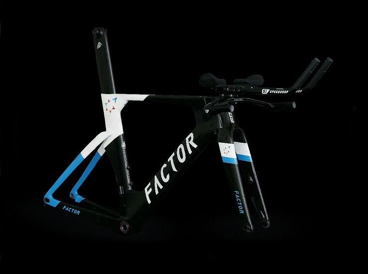 Шасси велосипеда для триатлона и раздельного старта Factor SLiCK Disc