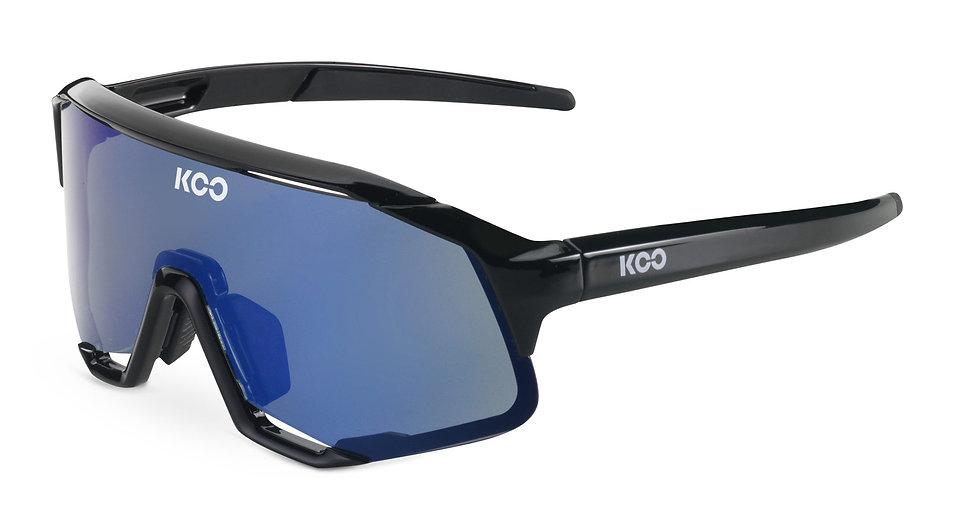 Очки солнцезащитные KOO DEMOS (Black/Blue Mirror)