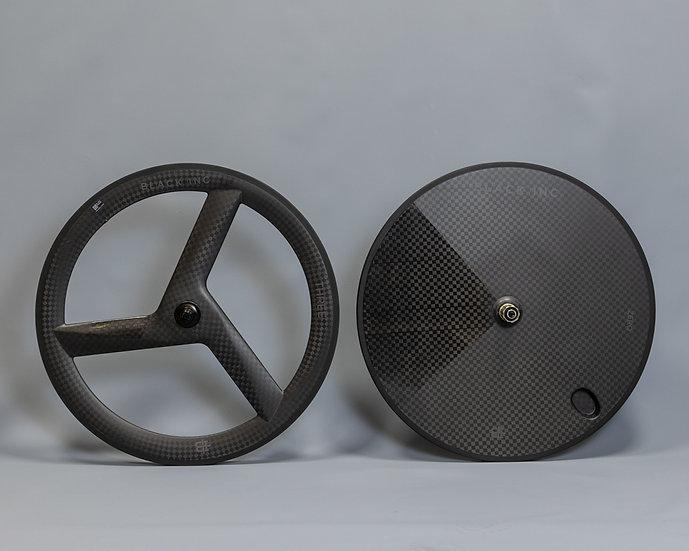Комплект колёс диск + лопасть Black Inc