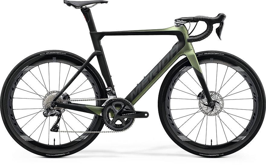 Шоссейный велосипед Merida Reacto Disc 8000-E 2020