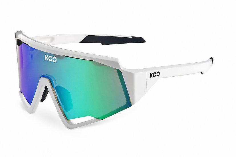 Очки солнцезащитные KOO SPECTRE (White/Green Mirror)