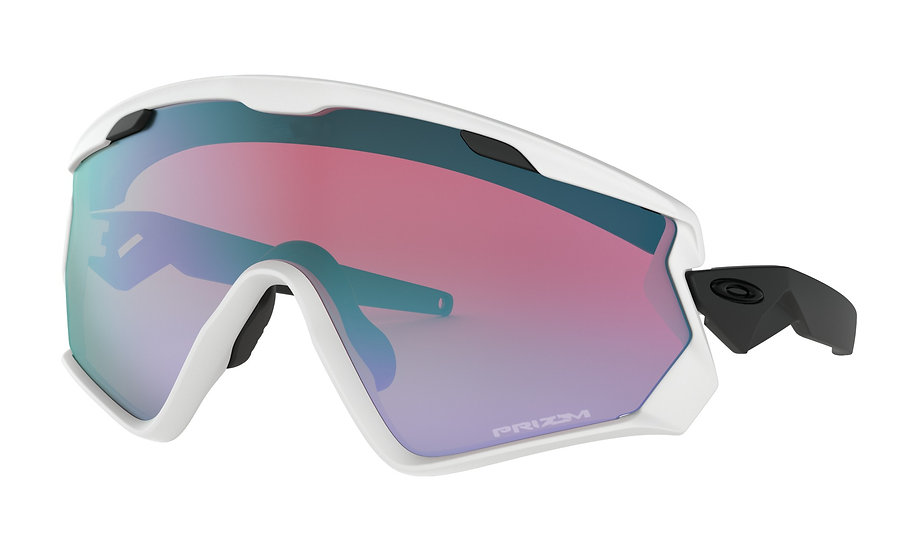 Очки Oakley Wind Jacket 2.0 Matte White/Prizm Snow Sapphirе