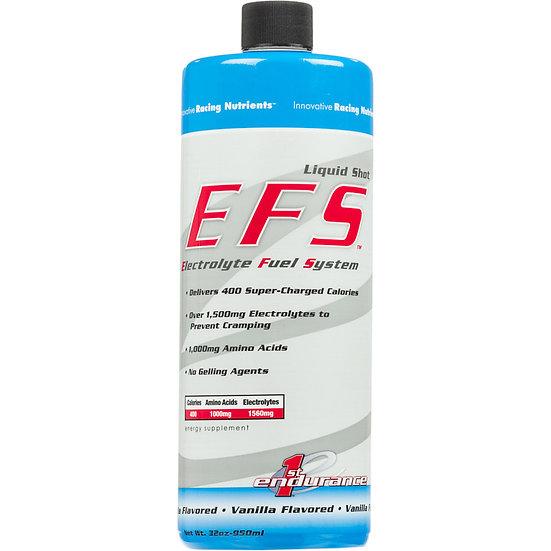 First Endurance EFS Liquid Shot, энергетич. гель с элетролитами, ваниль, 950 мл