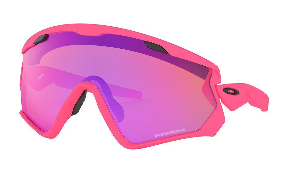 Очки Oakley Wind Jacket 2.0 Matte Neon Pink/Prizm Trail