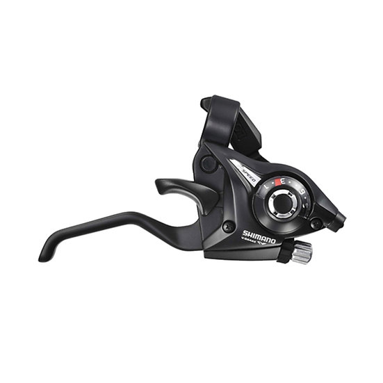 Манет.+ тормозная ручка Rear Shimano Tourney ST-EF51 (8ск.) Black