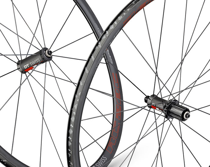 Шоссейные колёса DT Swiss RC 28 Spline Carbon Mon Chasseral