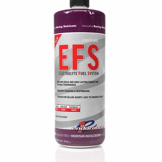 First Endurance EFS Liquid Shot, эн. гель с элетролитами, горная черника, 950 мл