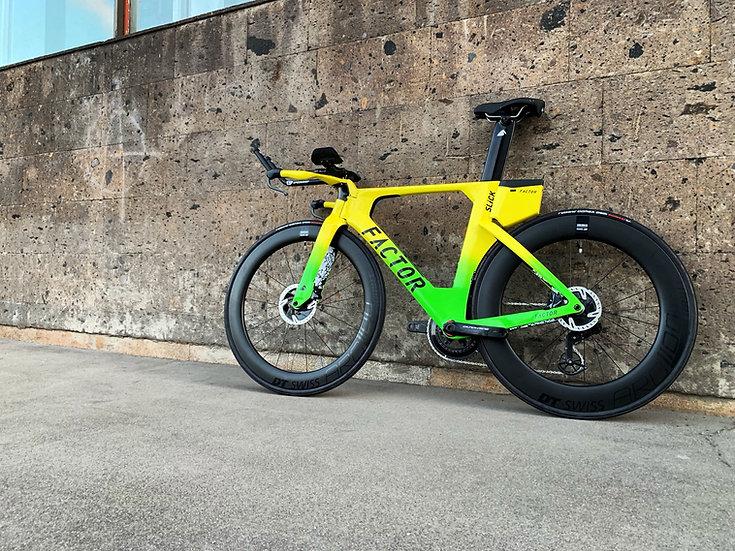 Шасси велосипеда для триатлона и раздельного старта Factor SLiCK Disc Kona