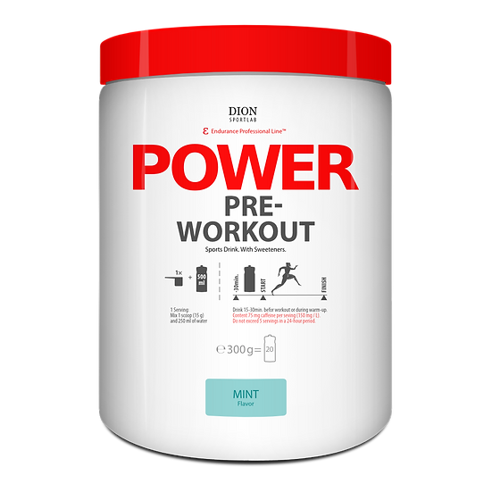 Предтренировочный напиток DION Sportlab POWER PRE-WORKOUT 300 г